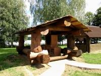 дом охотника Ушачский - Площадка для шашлыков