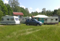 camping Duby - Parking lot