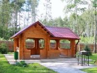 дом охотника Сморгонский - Беседка