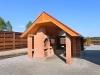 дом охотника Ля Прони / La Proni - Площадка для шашлыков