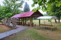 туристический комплекс Пышки - Площадка для шашлыков