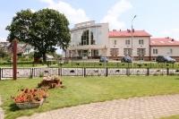 Над Припятью гостиничный комплекс / Гомельская область