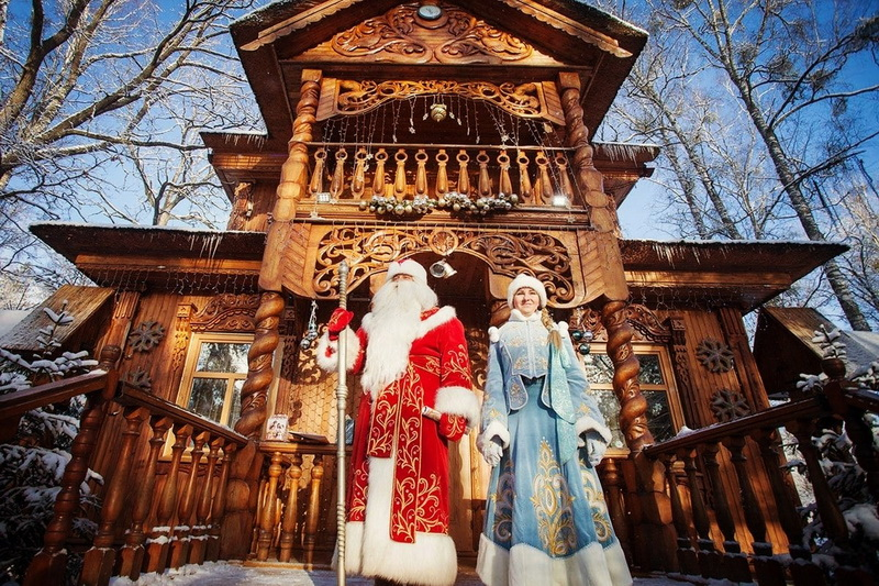 The estate of the Belarusian Dzed Moroz